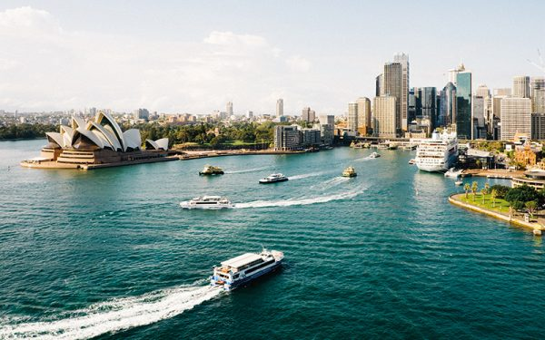 Sydney boats and port