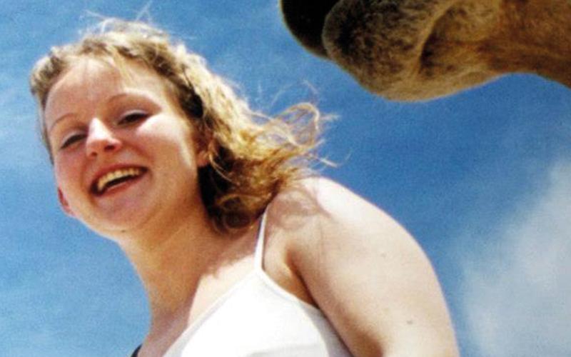 Caroline Stuttle and camel