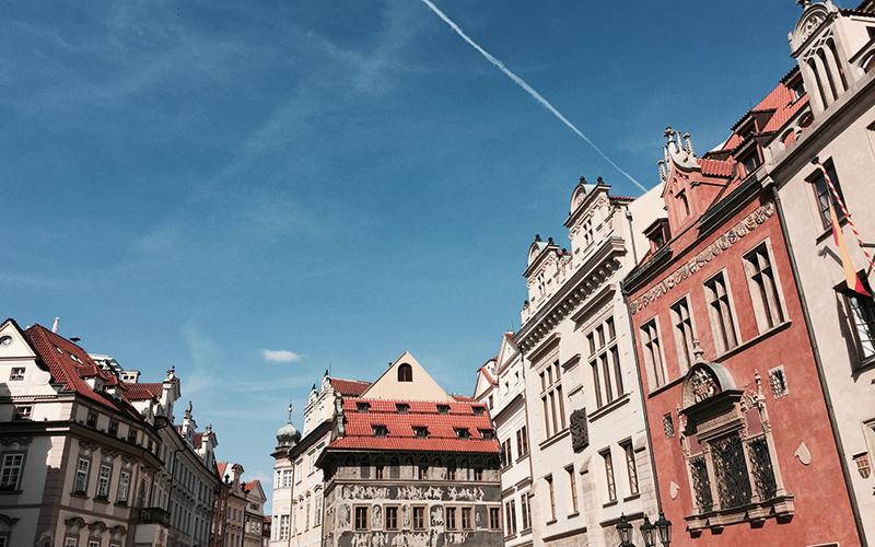 Sunny day in Prague