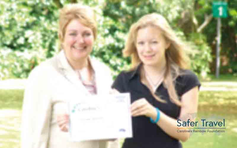 Marjorie Marks-Stuttle CRF psychology prize 2005