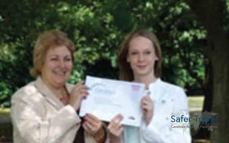 Marjorie Marks-Stuttle CRF psychology prize 2006