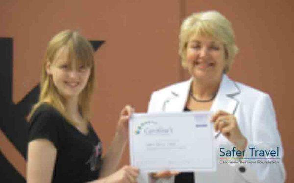 Marjorie Marks-Stuttle CRF psychology prize 2009