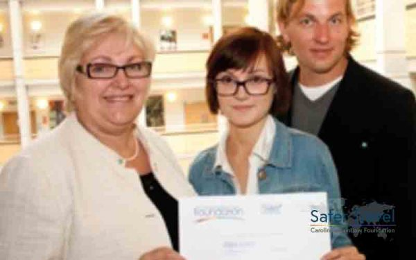Richard Stuttle and Marjorie Marks-Stuttle CRF psychology prize 2012