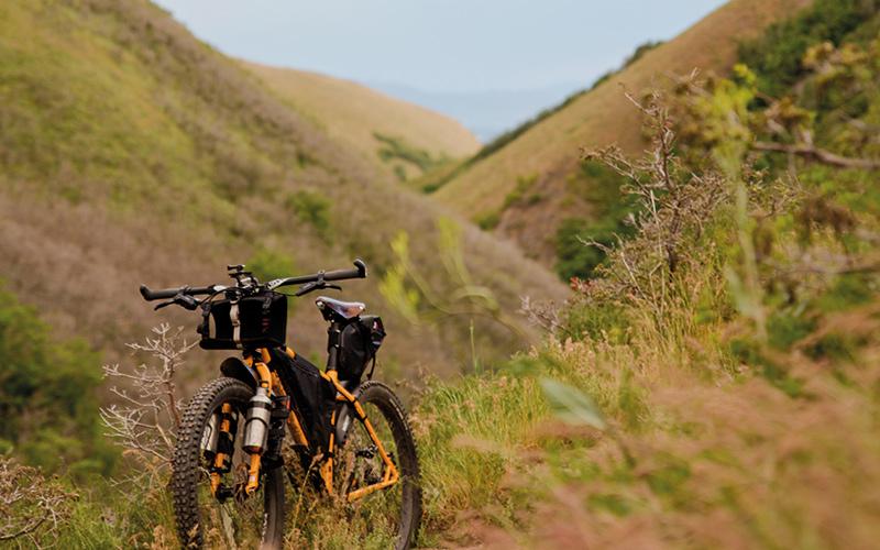 Bike in the hills