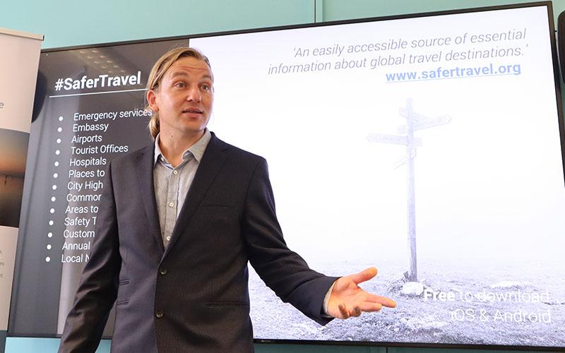 Richard Stuttle travel safety workshop