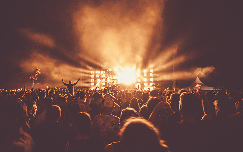 Crowd at a concert