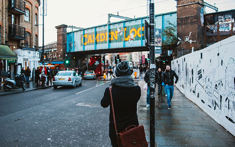 Camden Town bridge