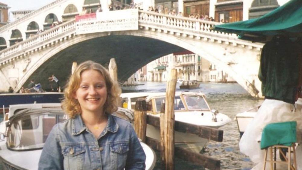 Caroline Ann Stuttle smiling