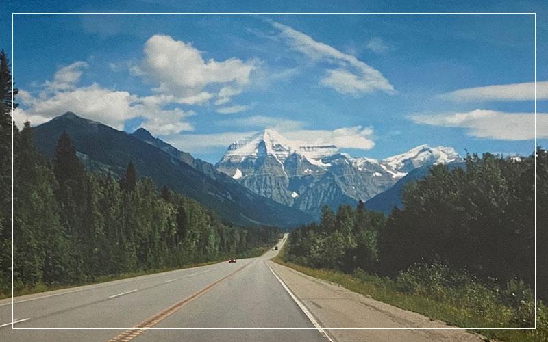 Canadian open road