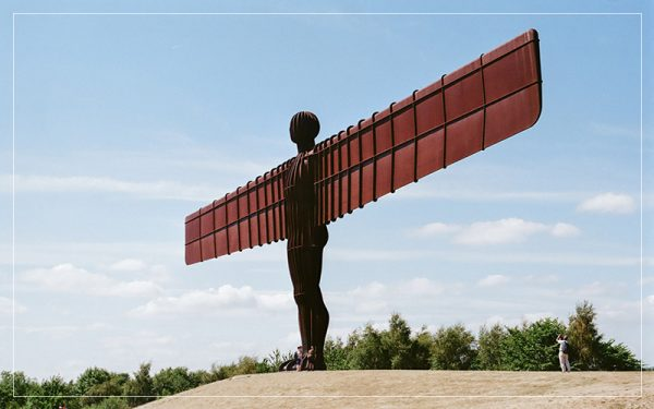 Angel of the North UK England