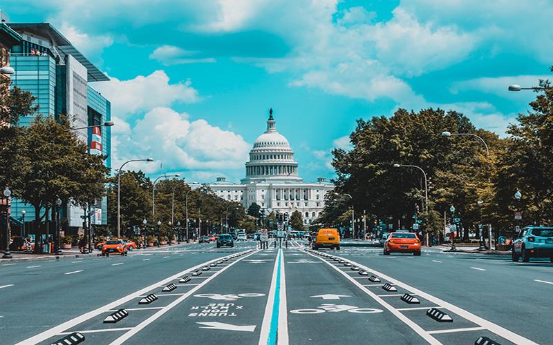 Big road in Washington