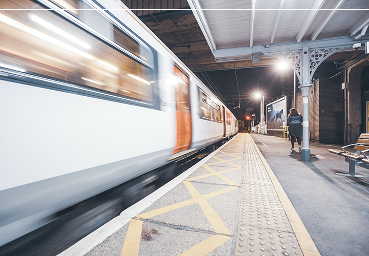 What to do if you get stuck on public transport